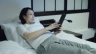 Pregnant Woman Using Tablet video