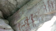 Prehistoric paintings in Asia video