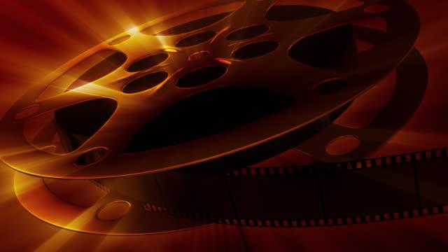 Premiere! Film reel video