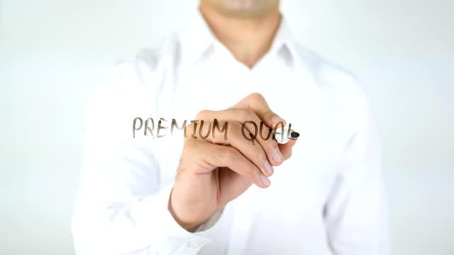 Premium Quali, Man Writing on Glass video