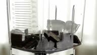 Preparation of milkshake. video