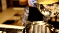 Preparation of pasta video