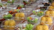 prepare thai food lunch box Kgawhmk video
