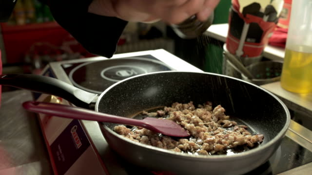Preparing a Meal video