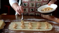 Preparing Agnolotti Pasta video