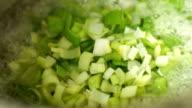 Preparing and cooking food - montage video