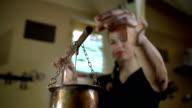 Preparing aromatic oil video