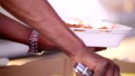 Preparing Caribbean Food Plate video