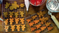 Preparing Christmas Cookies in Domestic Kitchen video