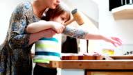 preparing dinner together video