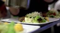 preparing food video