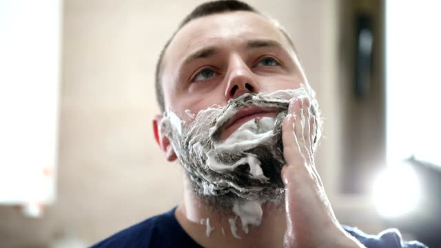 Preparing for a shave video