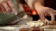 Preparing Fresh Homemade Gnocchi video