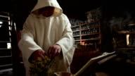 HD STOCK: Preparing herbs video