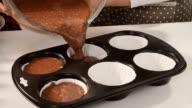 Preparing Homemade Muffins video