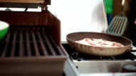 Preparing Homemade Sesame Bread video