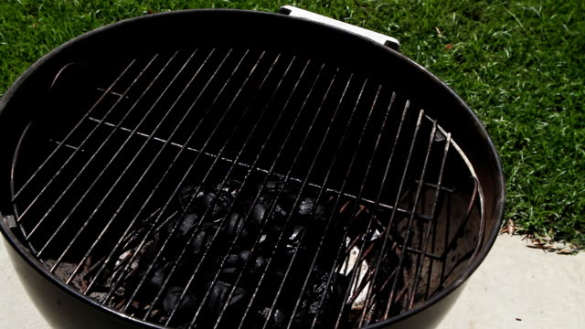 Preparing & Igniting A Charcoal Grill video
