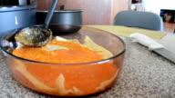 Preparing lasagna video