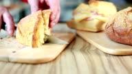Preparing Mortadella Sandwich video