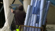 Preparing Paper Rolls For Reycling video