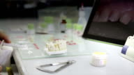Preparing pulp to make dental prosthesis video