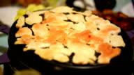 Preparing the raclette machine video