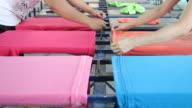 HD : Preparing T-Shirt Printing video