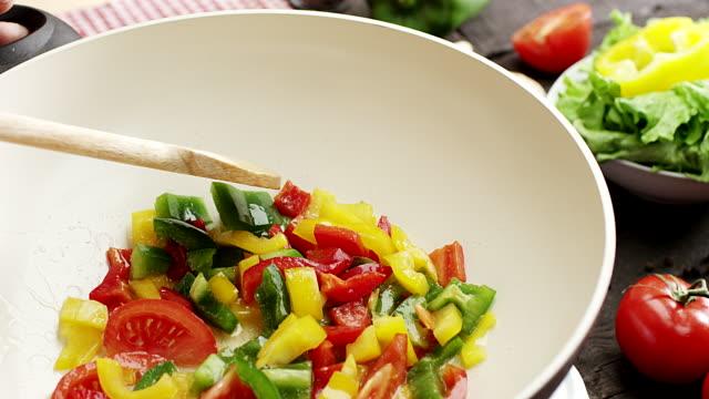 Preparing Vegetables video