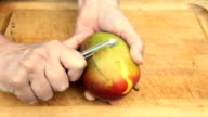 Prepping a Mango (part 1 of 5) video