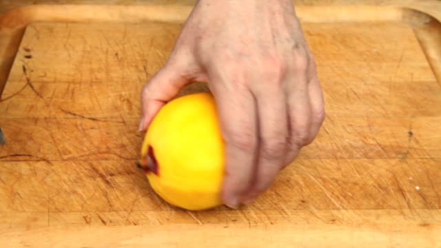 Prepping a Mango (part 3 of 5) video