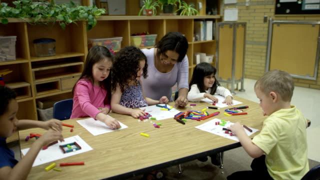 Preschool Arts and Crafts video