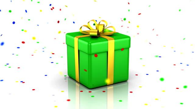 Presentation of Gift Box video