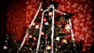 Presents Under The Christmas Tree-1958 Vintage 8mm film video