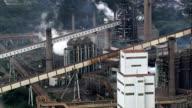 President Arthur Bernardes Steel Plant  - Aerial View - Minas Gerais, Ouro Branco, Brazil video