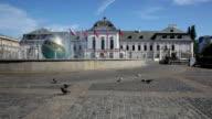 Presidential palace in Bratislava. video