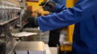 Press operator bending sheet metal video