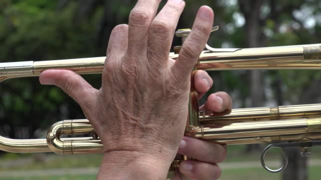 Pressing Trumpet Valves video
