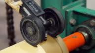 Pressure Guage of Calendering Machine video