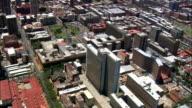 Pretoria City Centre  - Aerial View - Gauteng,  City of Tshwane Metropolitan Municipality,  City of Tshwane,  South Africa video