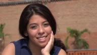 Pretty Smiling Teen Girl video