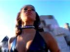 Pretty  woman  construction worker video