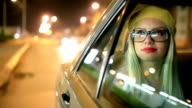 Pretty woman in the car video