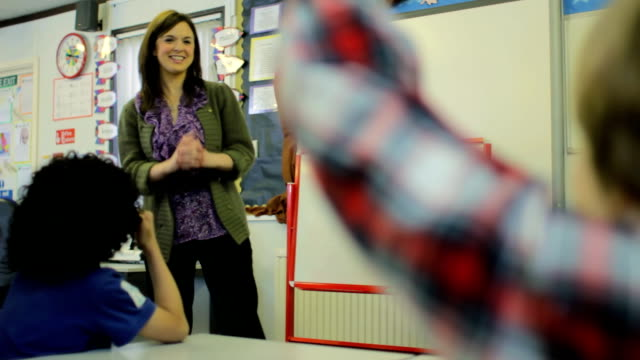 Primary school classroom video