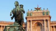 Prince Eugene of Savoy Statue Hofburg Palace Vienna video