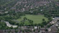 Princes Park,  Liverpool  - Aerial View - England,  Liverpool,  helicopter filming,  aerial video,  cineflex,  establishing shot,  United Kingdom video