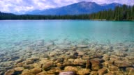 Prinsine Clear Lake Water in Mountains video