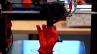 3D printer at work video