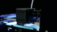 3D printer during work video