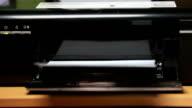 Printer Running video