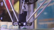 3D printers in action video